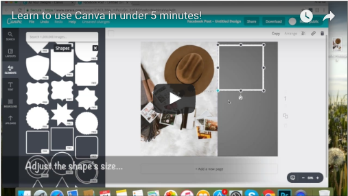 5 Minute Tutorial: Making Social Media Images